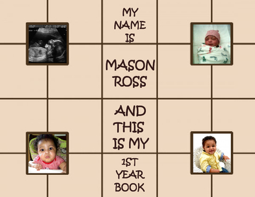 My Name Is Mason Ross And This Is My First Year Book