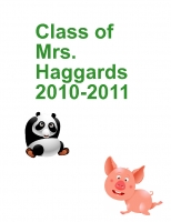 Class of Mrs. Haggards 2010-2011