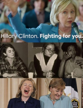 Hillary Rodham Clinton Fighting For You.