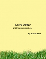Larry Dotter And the prisoners stone