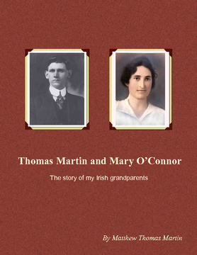 Thomas Martin and Mary O'Connor