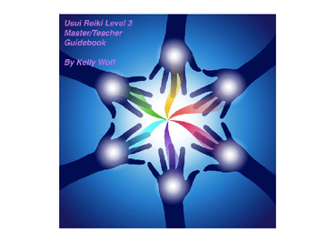 Usui Reiki level 3 Master/ Teacher
