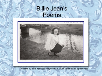 BillieJean's Poems