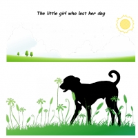 the little girl who lost her dog