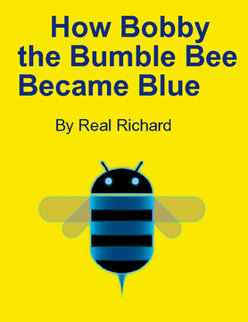 How Bobby the Blue Bumble Bee Became Blue