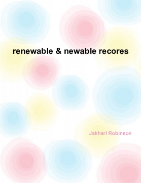 Jakhari's book of renewable and newable engery