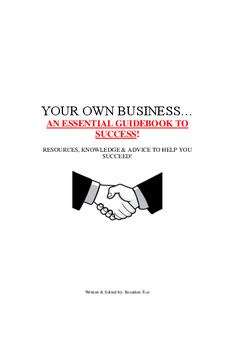 Your Own Business!