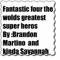 fantastic four the worlds greatest super hero team