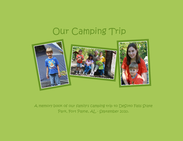 Our Camping Trip - 2nd Edition