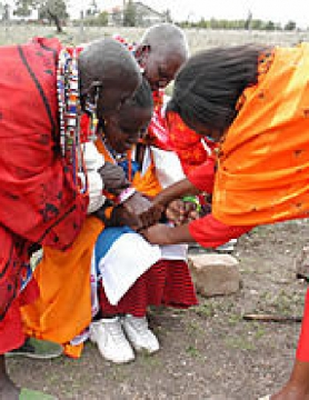 Female Circumcision in Kenya.