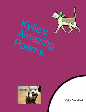 Kylie Cavalieri's Amazing Poems