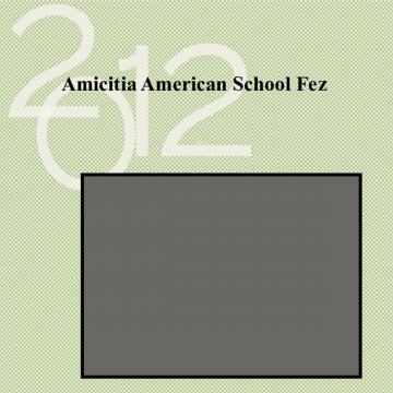 Amicitia American School Fes Yearbook