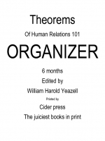 Theorems of Human Relations 101 organizer