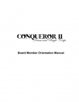 Board Member Orientation Manual