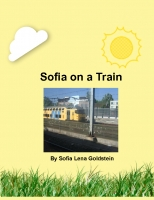 Sofia on a train