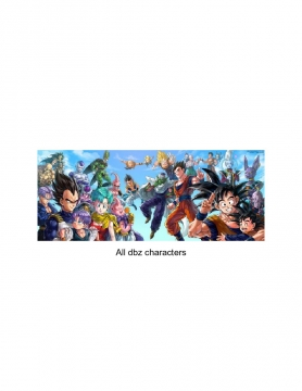 All of the dbz characters