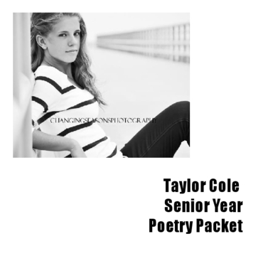 Senior Poetry Packet