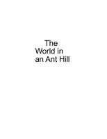 The World in a Ant Hill
