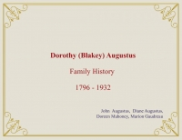 Dorothy Augustus ::  Ancestral History