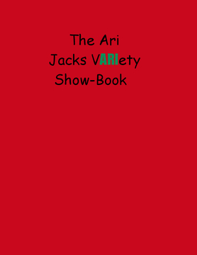 The Ari Jacks Variety Show-book