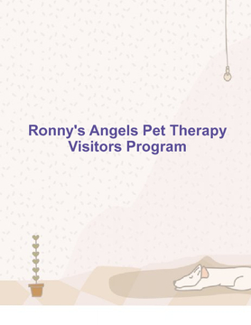 Ronny's Angels Pet Therapy Visitors