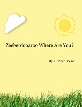 Zeeberdooaroo Where Are You?