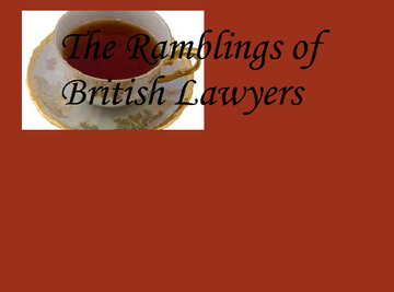 The Rambleings of British Lawyers