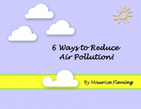 Reducing Air Pollution!