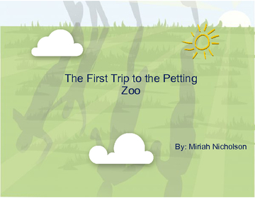 The First Trip to the Petting Zoo