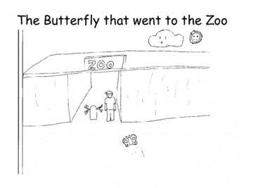 The Butterfly that went to the Zoo