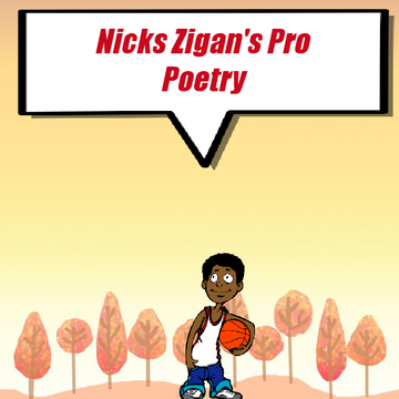 Nick Zigan's poetry book