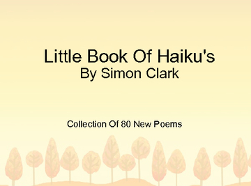 Little Book Of Haiku's
