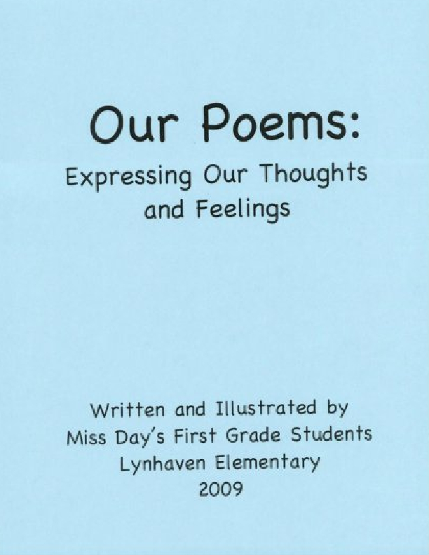 Our Poems: Expressing Our Thoughts and Feelings | Book