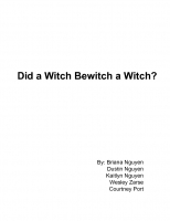 Did a Witch Bewitch a Witch?