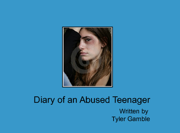 diary of a abuse teenager