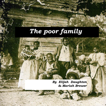 A poor family