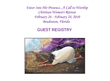 Enter Into His Presence...A Call to Worship