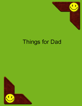 Things for Dad