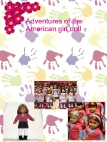 adventures of the american girl doll