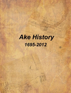 The History Of The Ake Family