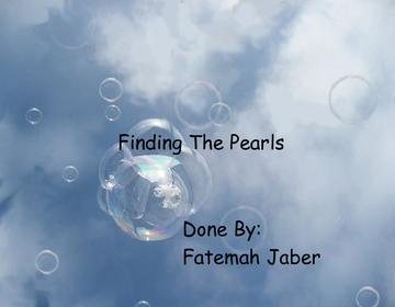 Finding The Pearls