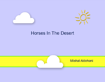 Horses In The Desert