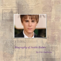 The biography of justin bieber