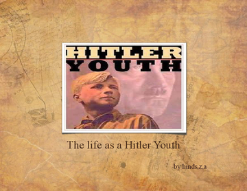 the life as a hitler youth