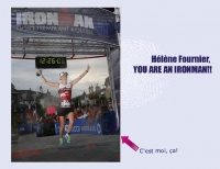 Hélène Fournier, YOU ARE AN IRONMAN!