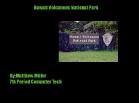 Hawaii Volcanoes National Park Guide