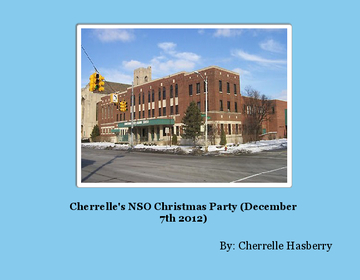 Cherrelle's NSO Christmas Party (December 7th 2012)