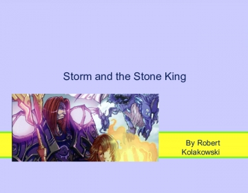Storm and the Stone keeper