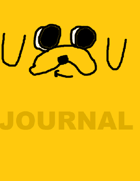 Adventure Time: Jake Journal