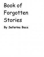 Book Of Forgotten Stories